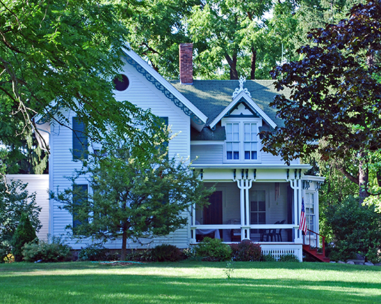 Robert Yerkes House, ca. 1872, 535 East Base Line Road, Northville, MI, National Register