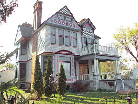 Wilbur F. Davidson House, ca. 1890, 1707 Military Street, Port Huron, MI, National Register