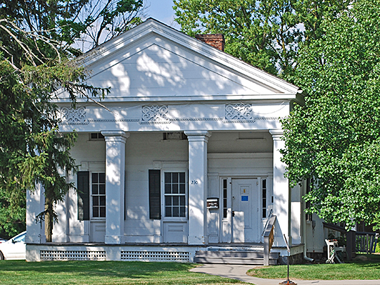 william anderson house,1853, national register, packard street, ann arbor,mi