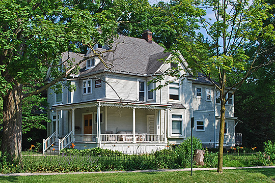 floyd r melcham,house,1898,national register,hill street, ann arbor,mi