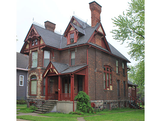 Jacob Leuthold Jr. House, ca. 1905, 108 2nd Avenue NW, Kasson, MN, National Register