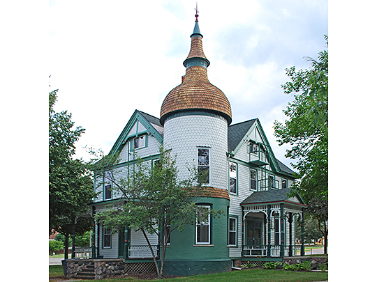 Brinkerhoff-Becker House, national register, ypsilanti,mi,washtenaw county,1863