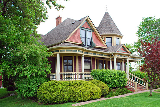 Orson Everitt House, ca. 1899, 39040 West Seven Mile Road, Livonia, MI, National Register