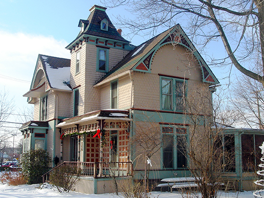 Charles G. Curtiss Sr. House, ca. 1890, 168 South Union Street, Plymouth, MI, National Register