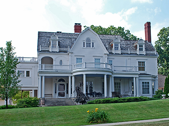 Frank J. Cobbs House, ca. 1898, 407 East Chapin Street, Cadillac, MI, National Register