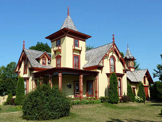 Eugene Saint Julien Cox House, ca. 1871, 500 N. Washington Ave, St Peter, MN