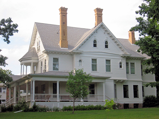 Patrick Casey House, ca. 1901, 4th Street and 2nd Avenue, Aitkin, MN, National Register