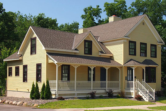 Shaw-Hammons House, ca. 1852, 302 Fremont Street, Anoka, MN, National Register