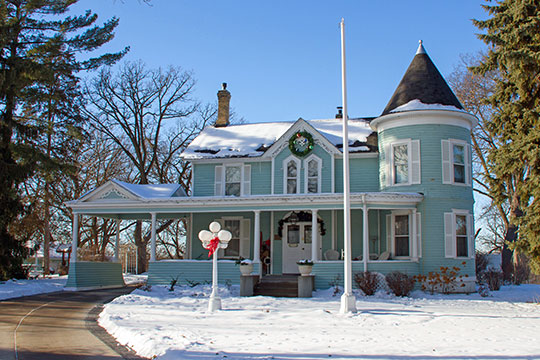 Herman L. Ticknor House, ca. 1867, 1625 3rd Avenue South, Anoka, MN, National Register
