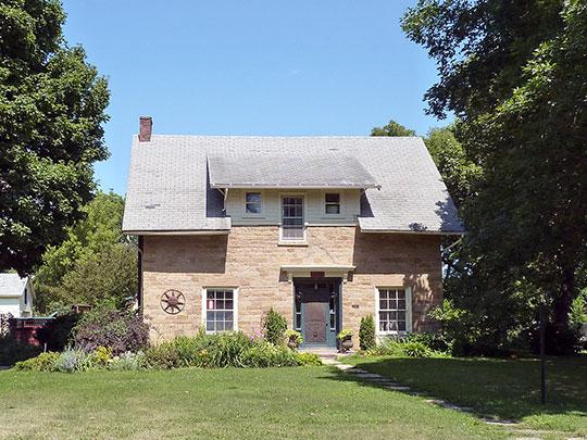 Charles Chapman House, ca. 1858, 418 McCauley Street, Mankato, MN, National Register