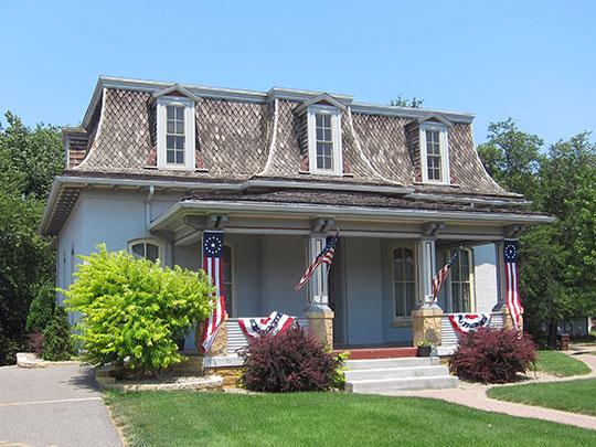 William Irving House, ca. 1873, 320 Park Lane, Mankato, MN, National Register