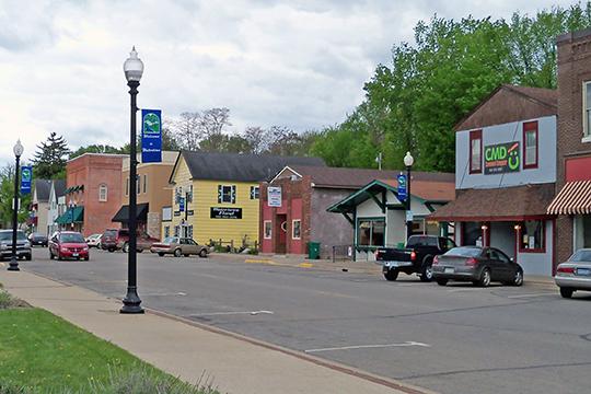 Downtown Watertown, MN.