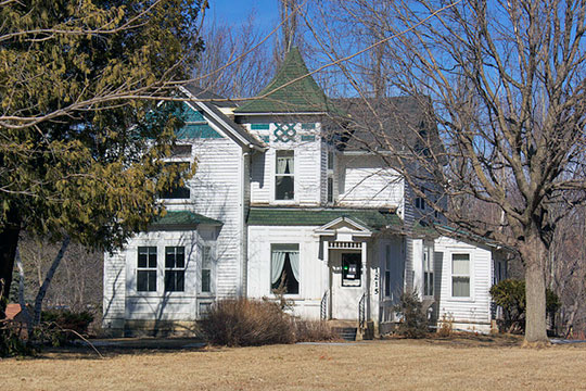 Isaac Bargen House, ca. 1888, 1215 Mountain Lake Road, Mountain Lake, MN, National Register