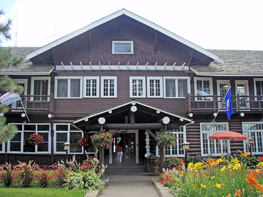 Grand View Lodge, ca. 1918, Route 77. Nisswa, MN, National Register