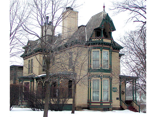Rudolph Latto House, ca. 1880, 620 Ramsey Street, Hastings, M, National Register