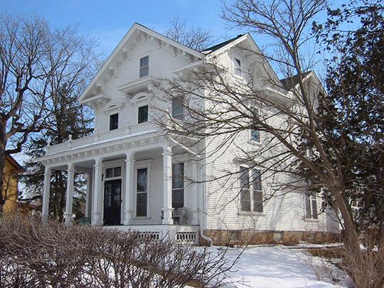 Pringle House, ca. 1870, 413 West Second Street, West 2nd Street Residential Historic District, Hastings, MN, National Register