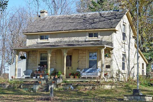 Andrew Doig House, ca. 1858, Mantorville, MN