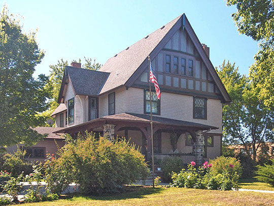 Noah P. Ward House, ca. 1903, 422 7th Avenue West, Alexandria, MN, National Register