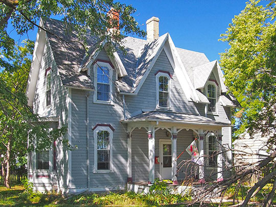 Thomas F. Cowing House, ca. 1875, 316 Jefferson Street, Alexandria, MN, National Register