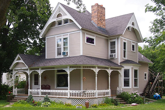 Philander Sprague House, ca. 1868, 1008 Third Street, Red Wing, MN, National Register