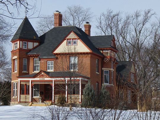 George W. Baird House, ca. 1886, 4400 West 50th Street, Edina, MN, National Register