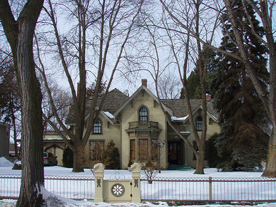 Jonathan Taylor Grimes House, ca. 1869, 4200 W. 44th Street, Edina, MN, National Register