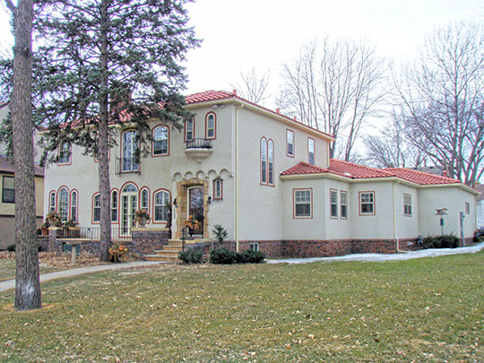 Home in the Nokomis Knoll Residential Historic District, Minneapolis, MN, Ntional Register