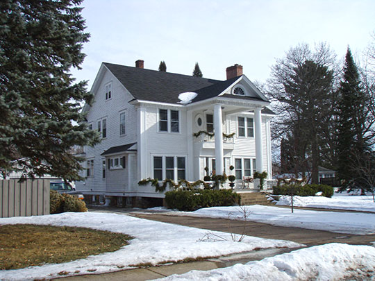 Oscar Olson House, ca. 1914, 309 Beechwood Avenue, Braham, MN, National Register