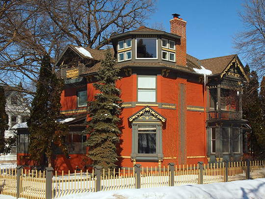 Cyrus B. Cobb House, ca. 1885, 2199 First Street, White Bear Lake, MN, National Register