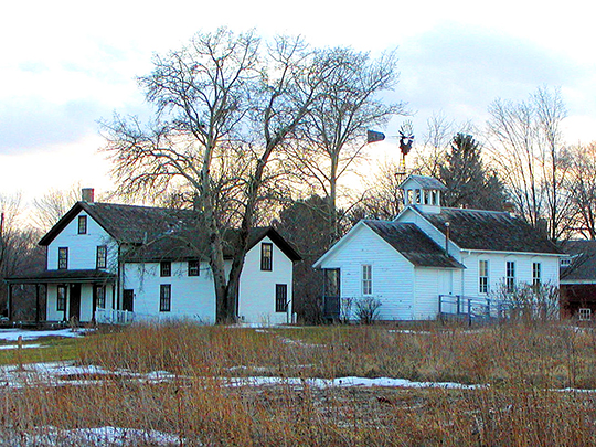 Herman_Gibbs_Farmstead, ca. 1854, 2097 Larpentuer Avenue, Falcon Heights, MN, National Register