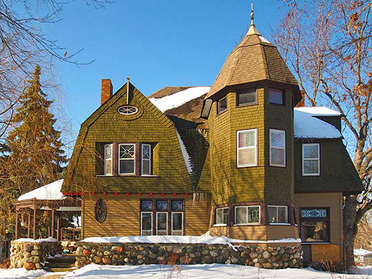 Charles W. Schneider House, ca. 1887, 1750 Ames Place East, Hazel Park neighborhood, Saint Paul, MN, National Register