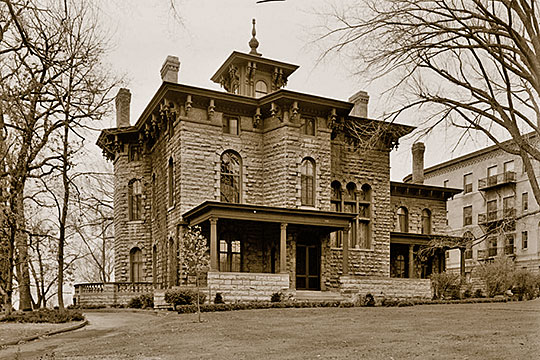 James C. Burbank House (Livingston Griggs House), ca. 1865, 432 Summit Avenue, St. Paul, MN, National Register