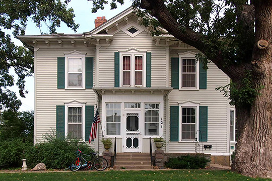 H.D. Chollar House, ca. 1878, 4th and Minnesota Streets, Redwood Falls, MN, National Register