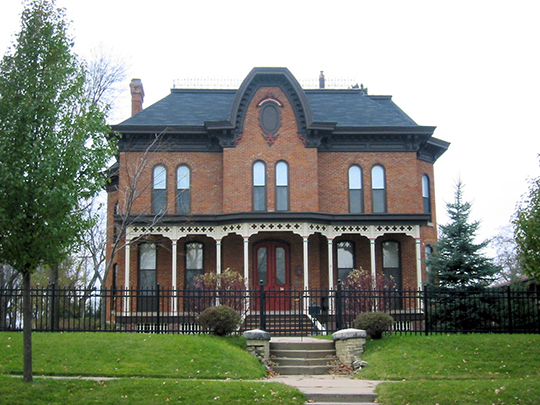 Hudson Wilson House, ca. 1876, 104 First Avenue, NW, Faribault, MN, National Register