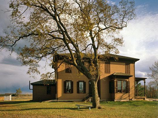 Oliver Kelley Homestead, ca. 1850, U.S. Highway 10 (15788 Kelley Farm Road), Elk River, MN, National Register