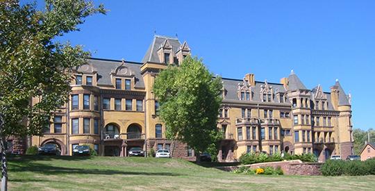 Munger Terrace Apartment Block, ca. 1891, 405 Mesaba Avenue, Duluth, MN, National Register