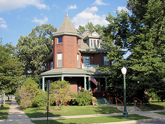 John N. Bensen House, ca. 1903, 402 6th Avenue South, St. Cloud, MN, National Register