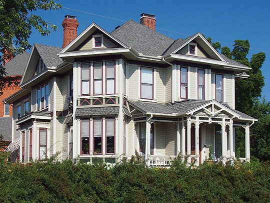 Roscoe Hersey House, ca. 1879, 416 South 4th Street, Stillwater, MN, National Register.