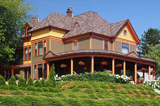 William Sauntry House, ca. 1902, 626 North 4th Street and 625 North 5th Street, Stillwater, MN, National Register