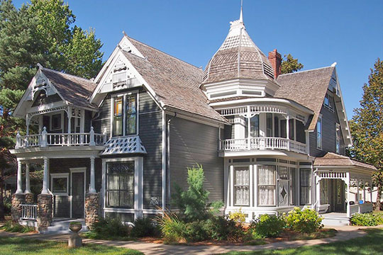 John. G. Lund House (Lund-Hoel House), ca. 1891, 101 West 4th Street, Canby, MN, National Register