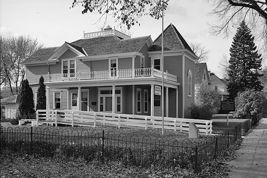 Andrew John Volstead House, ca. 1878, 163 Ninth Avenue, Granite Falls, MN, National Register