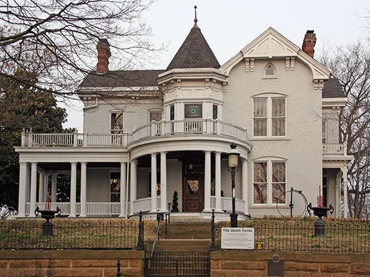 Glenn House, ca. 1883, 325 South Spanish Street, Cape Girardeau, MO, National Register