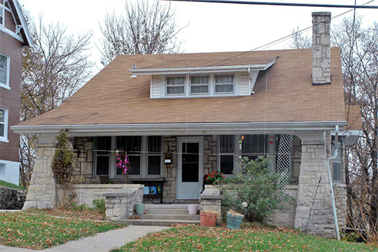 Home at 508 Jackson Street, ca. 1916, Hobo Hill Historic District, Jefferson City, MO, National Register
