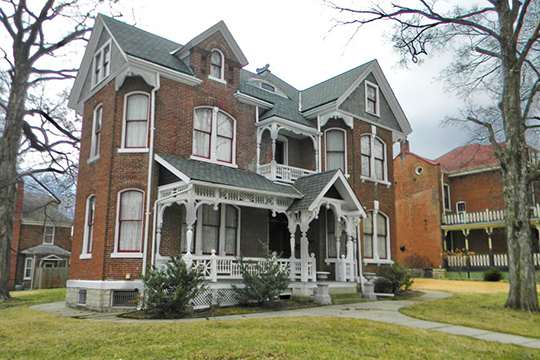 Henry C. Thias House, ca. 1888, 304 Elm Street, Washington, MO, National Register