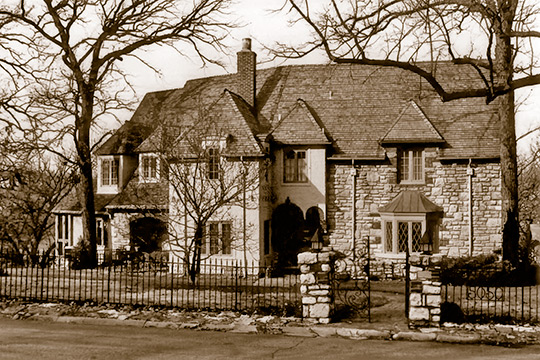 Home at 5050 Sunset Drive (Sunset Hills Neighborhood), ca. 1925, Kansas City, MO