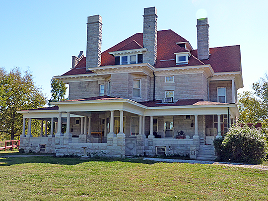 Phelps Country Estate, ca. 1900, RR 1, Newcastle Road, near Carthage, MO, National Register