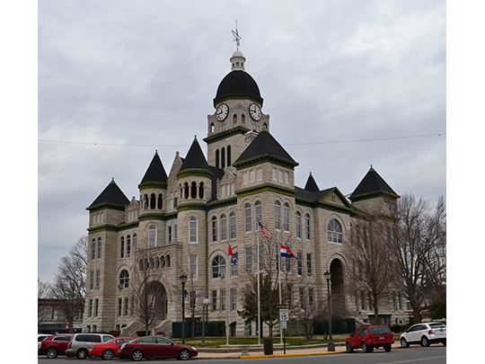 Jasper County Courthouse, Carthage, MO.