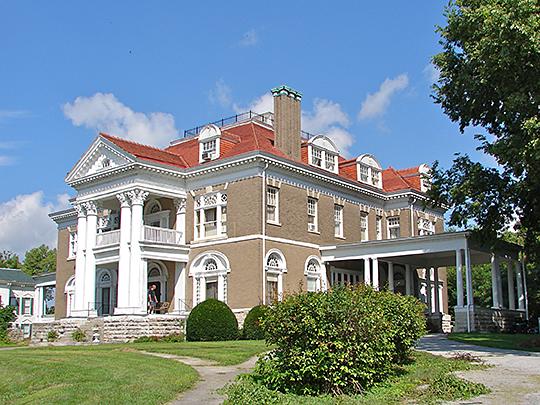 Rockcliffe Mansion, ca. 1898, 1000 Bird Street, Hannibal, MO, National Register
