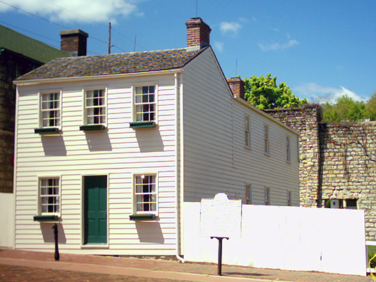 Mark Twain Boyhood Home, ca. 0000, 206-208 Hill Street, Hannibal, MO, National Register