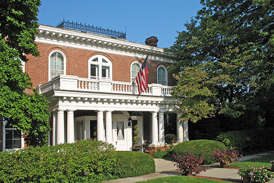Thomas Gaunt House, ca. 1870s, 703 College Avenue, Maryville, MO, National Register
